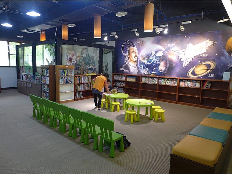 假日去哪裡?科普圖書館閱讀空間