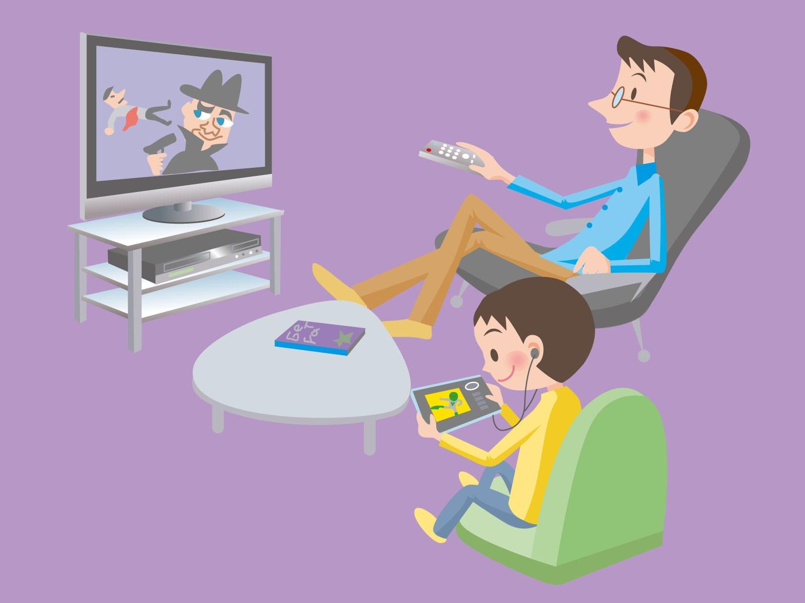 看電視 到底對孩子而言好不好?