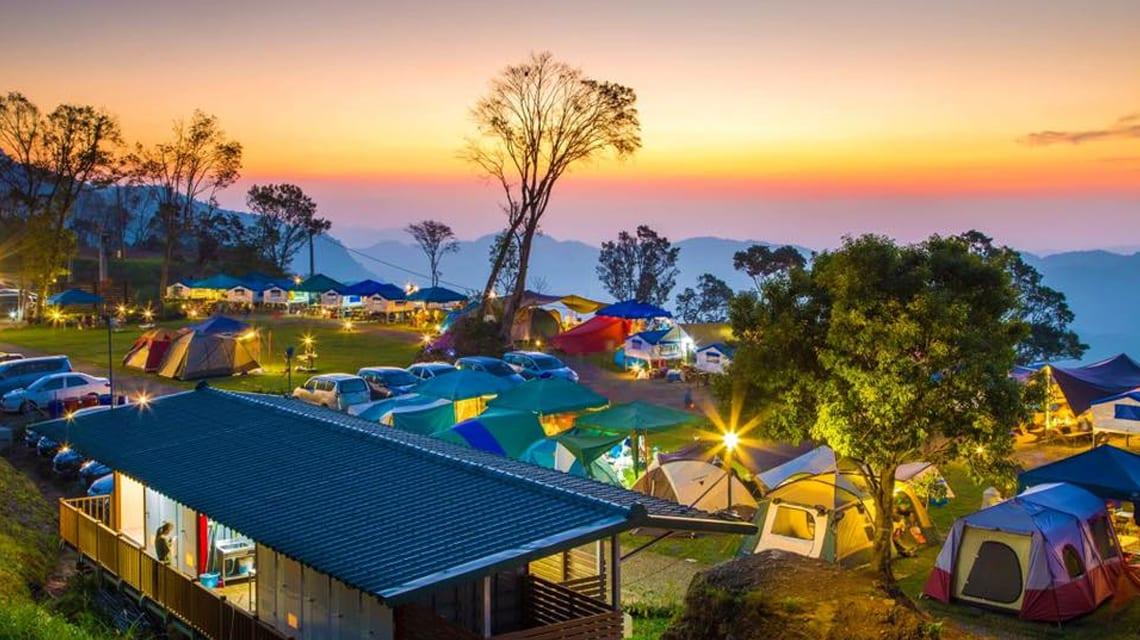 自然野趣露營區