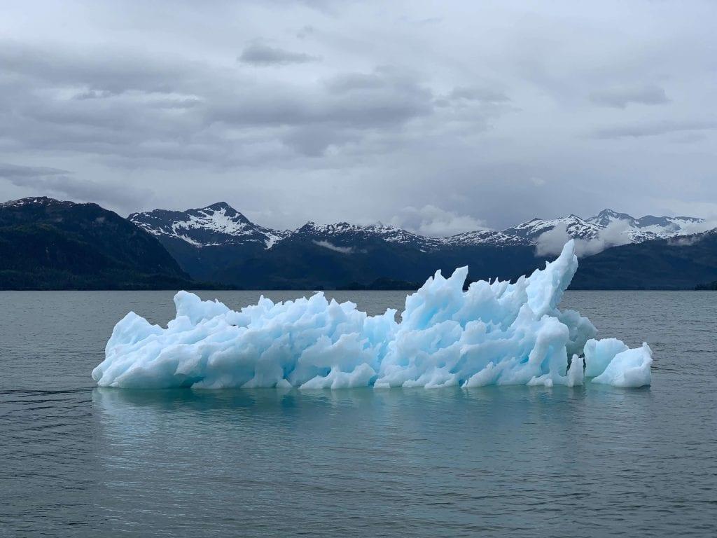 氣候變遷帶來冰川消融