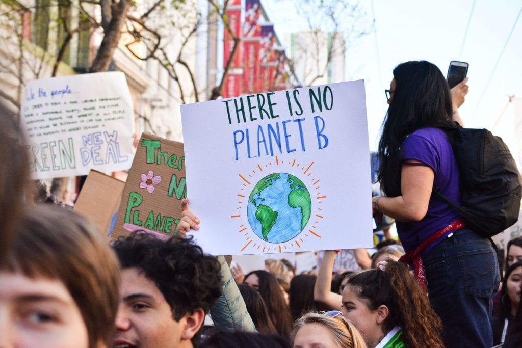氣候變遷是下世代最關注的議題
