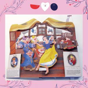 迪士尼公主魔法立體書-白雪公主