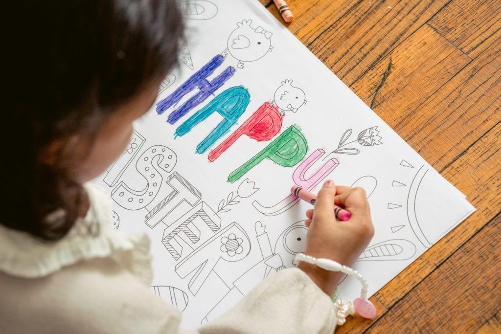兒童親手製作繪本